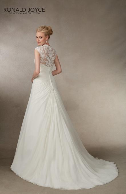 Ronald Joyce Bridal Gown 18014 Joella Size 14