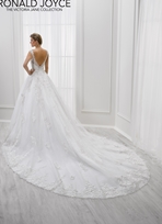 Ronald Joyce Bridal Gown 18102 Leigh Size 14 & 22