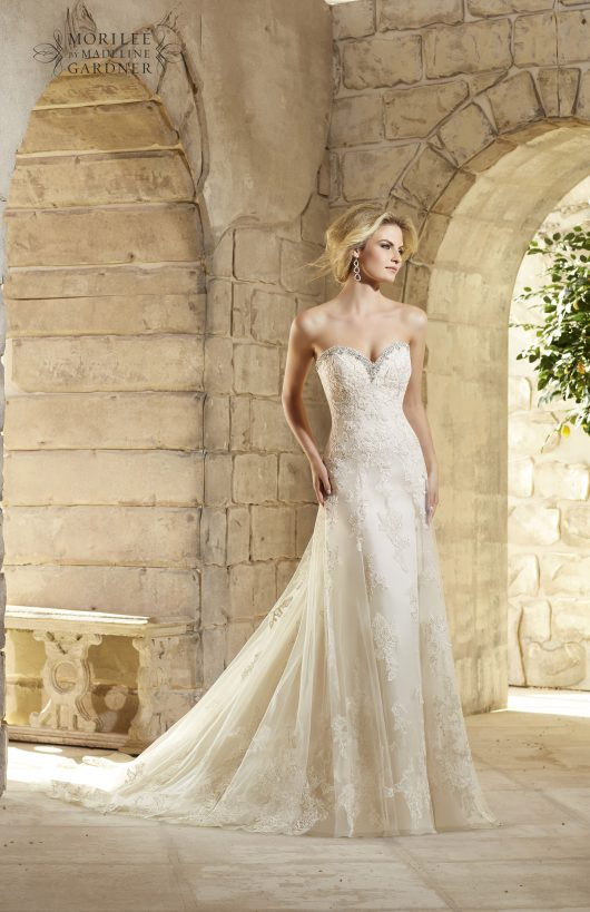 Morilee Bridal Gown 2774-Melody Size 14
