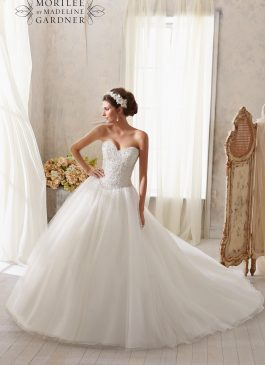 Morilee Bridal Gown 5216-Anna Size 14
