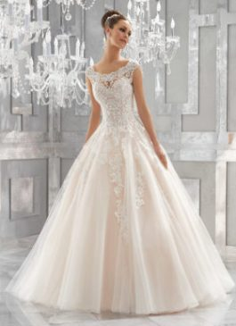 Mori Lee Bridal Gown 5573 Massima Size 12 & 20
