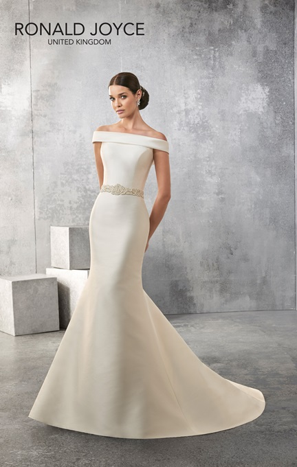 Ronald Joyce Bridal Gown 69153 Amanda Size 12