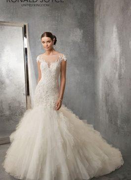 Ronald Joyce Bridal Gown 69168 Ada Size 14