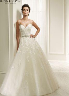 Ronald Joyce Bridal Gown 69210 Henrietta Size 12