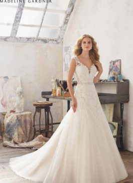 Mori Lee Bridal Gown 8117 Marciana Size 14