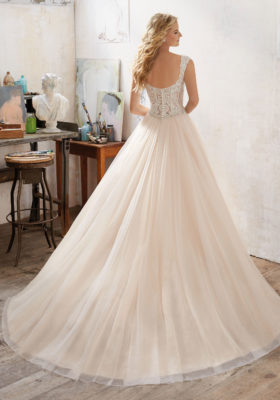 Mori Lee Bridal Gown 8126 Marigold Size 16