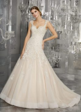 Mori Lee Bridal Gown 8174 Monique Size14 & 22