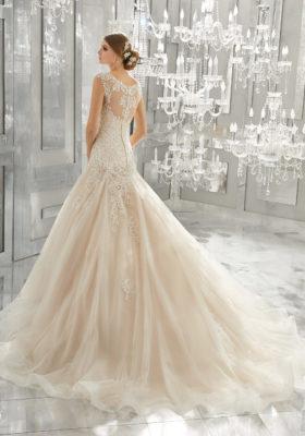 Mori Lee Bridal Gown 8174 Monique Size14 & 22