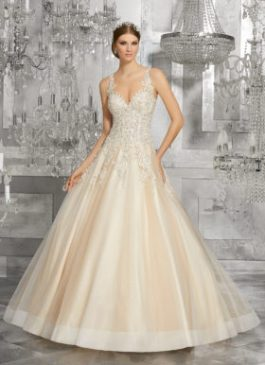 Mori Lee Bridal Gown 8190 Mahala Size 12