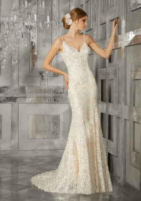 Mori Lee Bridal Gown 8191 Meralda Size 12