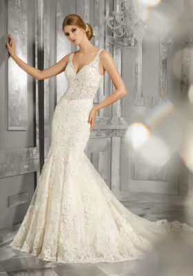 Mori Lee Bridal Gown 8192 Maggie Size 14