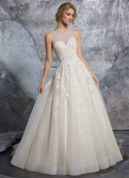 Mori Lee Bridal Gown Kiara 8215 Size 12