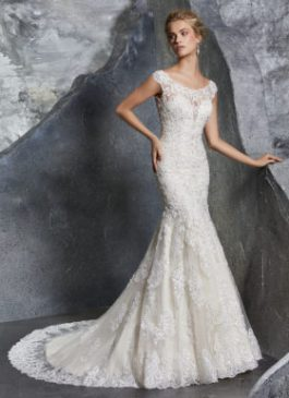 Mori Lee Bridal Gown Keeley Style 8219 Size 14