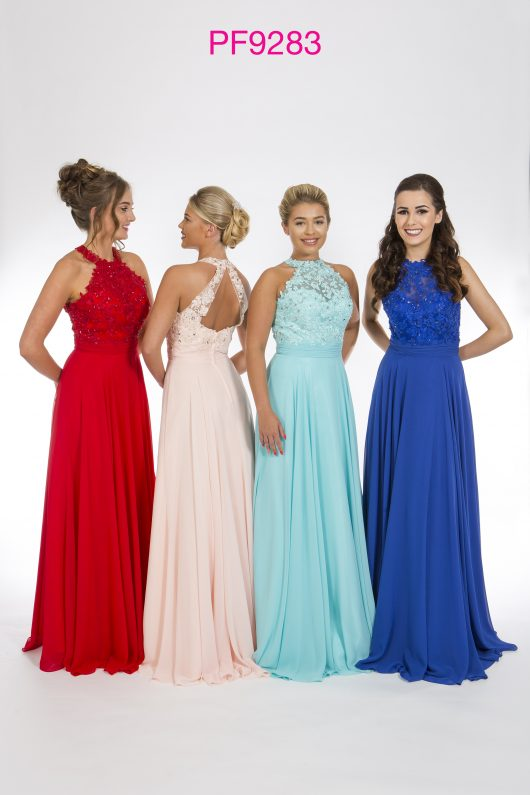 Bridesmaid PF 9283 available in Blush Pink,Tiffany Blue, Red or Royal Blue