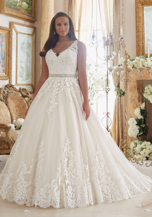 Morilee Bridal Gown 3208 Lily Size 20