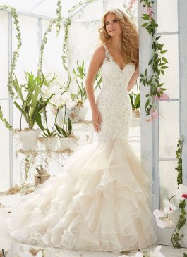 Morilee Bridal Gown 2819 Louisa Size 14