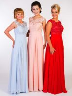 Bridesmaid PF 9147 available in Powder Blue, Blush or Red