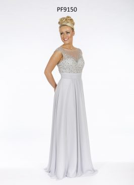Prom Frocks Bridesmaid PF9150 Silver