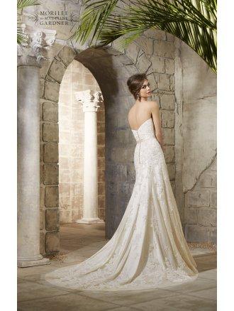 Mori Lee Bridal Gown 'Rebecca' Style 5361 Gold size 16