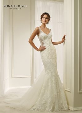 Ronald Joyce Bridal Gown 69213 Hermione Size 12