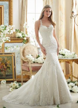 Morilee Bridal Gown 2876 Vanessa Size 12
